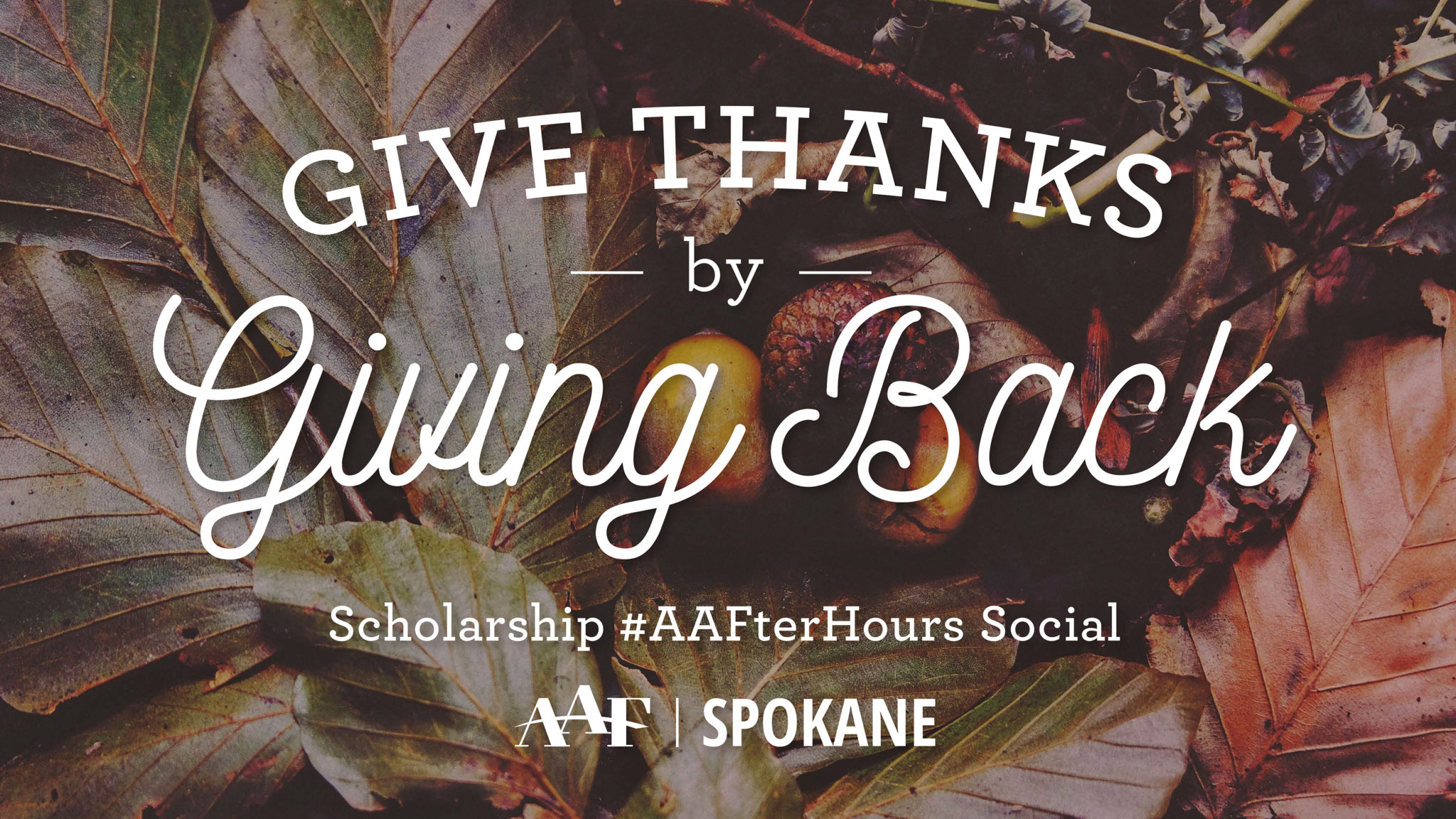 #AAFterHours Scholarship Social