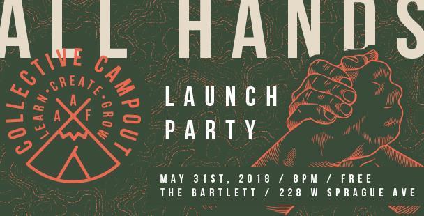 AAF Spokane Collective Campout Launch Party
