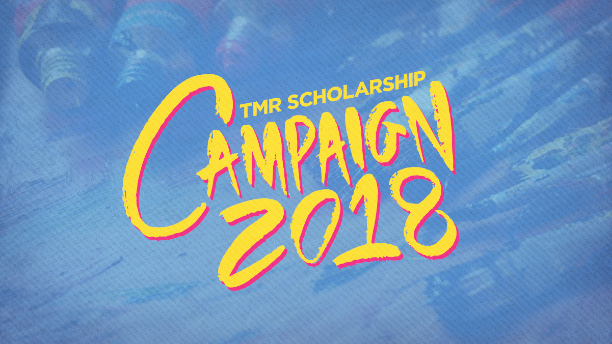 TMR Scholarship Crowdfunding Campaign