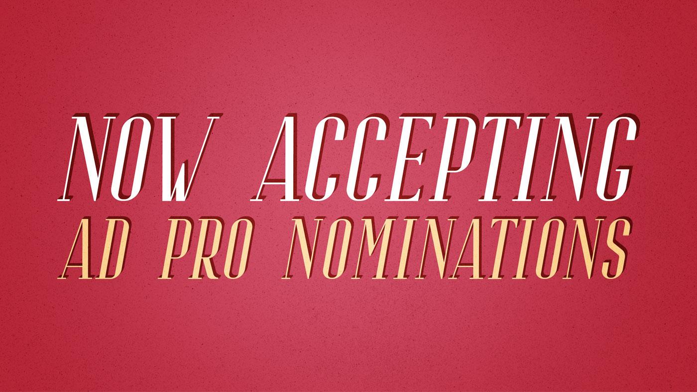 Ad Pro Nominations 2019