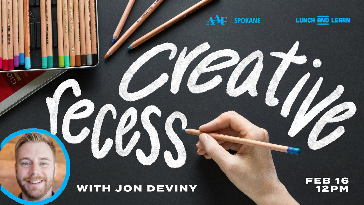 Creative Recess with Jon Deviny!